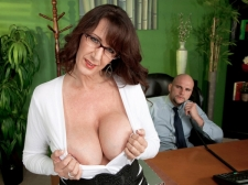 Fucking the biggest breasted Mama I'D LIKE TO FUCK who's wearing glasses