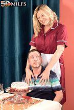 Tony takes the cake, Lena takes the cock