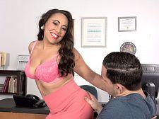 Gabriella Sky's wondrous oral joy skills