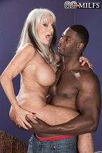 Sally takes on Jax Black's bigger in size than run of the mill cock