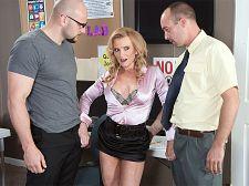 Ms. Verhooks' anal three-way