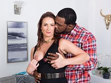 Ass-fucked by a larger than standard, darksome cock