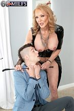63-year-old Sierra's 1st on-camera fuck